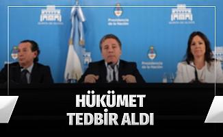 Arjantin'de enflasyonun artması sonucu hükümet tedbir aldı