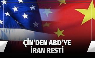 Çin'den ABD'ye İran resti: 'İşbirliğimiz devam edecek'