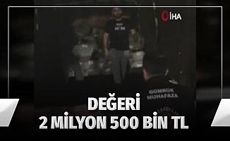 İstanbul'da kaçak şemsiye operasyonu