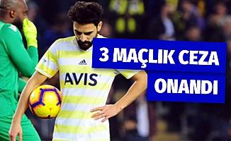 Mehmet Ekici'nin aldığı 3 maçlık ceza onandı