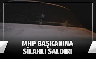 MHP Kars İlçe Başkanına Silahlı Saldırı Girişimi