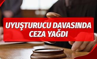 Samsun'da uyuşturucu davasında ceza yağdı