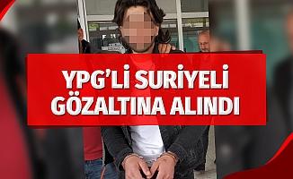 Samsun'da YPG'li Suriyeli gözaltına alındı