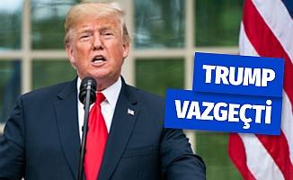 Trump Vergi Beyannamelerini Paylaşmaktan Vazgeçti
