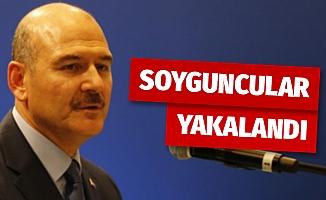İçişleri Bakanı Soylu, Sarar Holding soyguncularının yakalandığını açıkladı