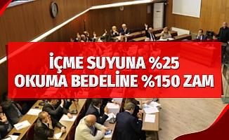 Samsun'da içme suyuna yüzde 25, sayaç okuma bedeline yüzde 150 zam yapılacak