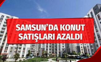 Samsun'da konut satışları azaldı