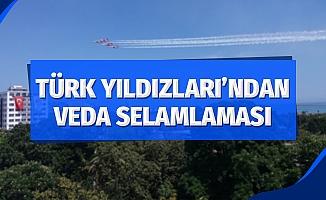 Türk Yıldızları, Konya'ya dönerken Samsun'u selamladı