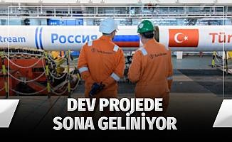 TürkAkım'da son durum; Türkiye alım terminalinin yüzde 70'i tamamlandı