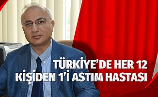 Türkiye'de her 12-13 erişkinden biri ve 7-8 çocuktan biri astım hastası
