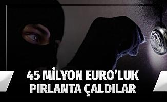 Uzman kılığına giren hırsızlar, 45 milyon euroluk pırlanta çaldı