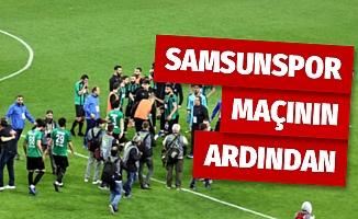 Yılport Samsunspor - Sakaryaspor maçının ardından