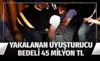 Ambarlı Limanı'nda 90 kilo kokain ele geçirildi