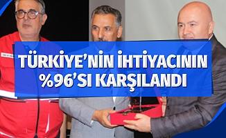 2019 yılının ilk 6 ayında Türkiye'nin kan ihtiyacının yüzde 96'sı karşılandı