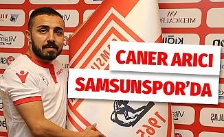 Samsunspor, Caner Arıcı ile sözleşme imzaladı