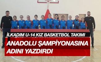 İlkadım U-14 Kız Basketbol takımı anadolu şampiyonasına adını yazdırdı.