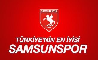 Türkiye'nin en iyisi Samsunspor