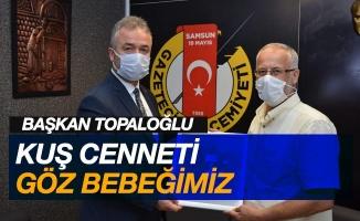 """Başkan Topaloğlu: """"Kuş Cenneti göz bebeğimiz"""""""