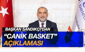 """Canik Belediyesi'nden """"Canik Basket"""" açıklaması"""