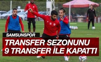 Samsunspor yaz transfer sezonunu 9 transfer ile tamamladı