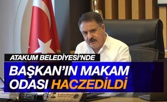 Atakum Belediyesi'nde başkanın makam odası haczedildi