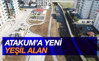 Atakum'a yeni yeşil alan