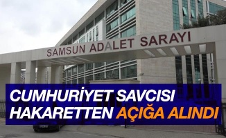 Cumhuriyet savcısı 'kamu görevlisine hakaretten' açığa alındı