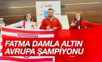 Fatma Damla Altın pentatlonda Avrupa şampiyonu oldu