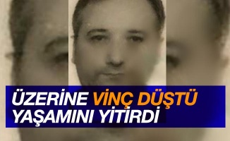 Samsun'da üzerine vinç düşen işçi hayatını kaybetti