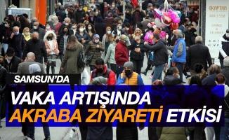 Samsun'da vaka artışında 'akraba ziyareti' etkisi