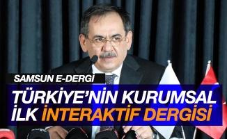 Türkiye'nin ilk kurumsal interaktif dergisi: Samsun E-Dergi