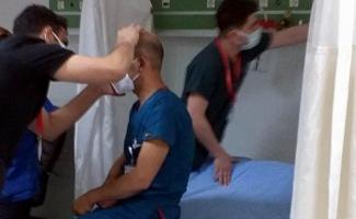 Sağlık personelinden sonra doktor da yumruklu saldırıya uğradı