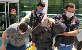 Uyuşturucu ticaretinden 2 kişi tutuklandı