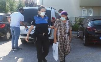 Bafra'da girdiği daireden 10 bin lira çalan kadın Samsun'da yakalandı