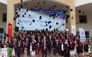 'OMÜ İletişim'de 281 öğrencinin mezuniyet heyecanı