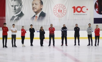 Türkiye Buz Pateni Milli Takımı'nın hedefi olimpiyat kotası almak