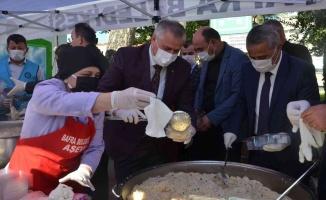 """Bafra'da """"Tohumdan Pilava"""" pilav günü etkinliği"""