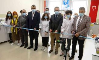 Cumhurbaşkanı Erdoğan, Samsun'daki laboratuvarın açılışını online yaptı