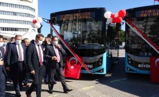 Samsun'da ulaşım filosuna 30 yeni otobüs