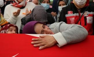 Suriye şehidi Tayfun Özköse için helallik alındı